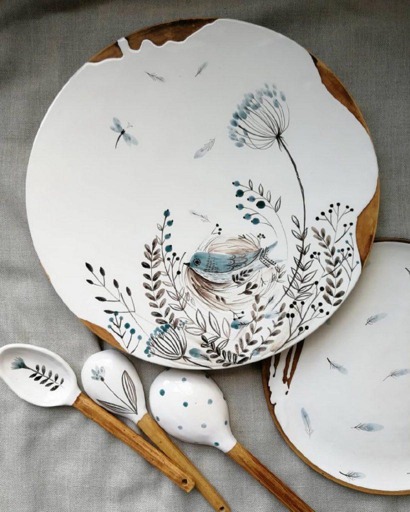 Юлия Осока  #1 | Удивительный мир керамики мастериц из Украины | ZestRadar