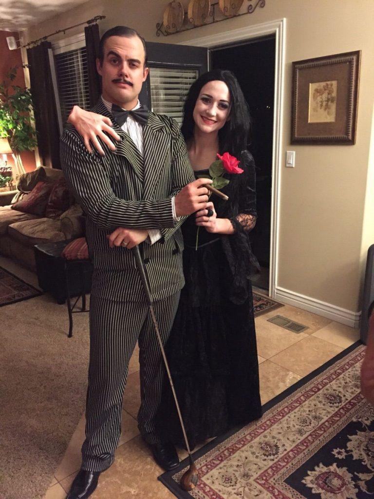 Adams Family | 8 Best Couple Halloween Costume Ideas | ZestRadar