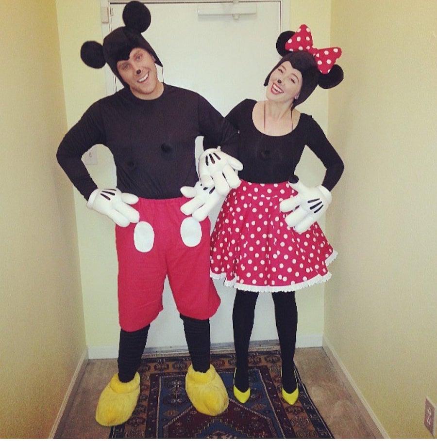 Mickey and Minnie | 8 Best Couple Halloween Costume Ideas | ZestRadar