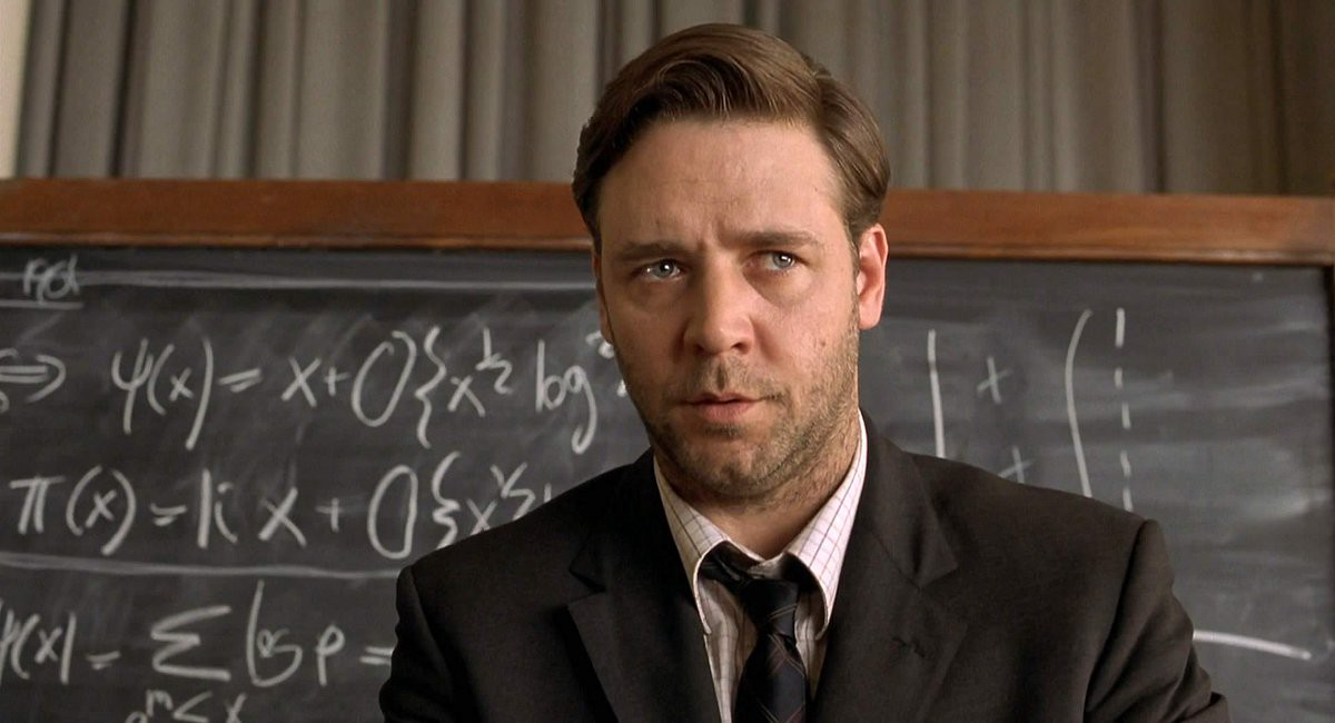 A Beautiful Mind (2001) | 10 Movies That Will Inspire You | Brain Berries