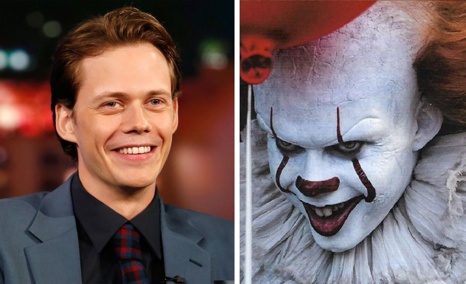 Bill Skarsgård – Pennywise  | 10 'Ugly' Movie Characters Who Look Stunning in Real Life | ZestRadar