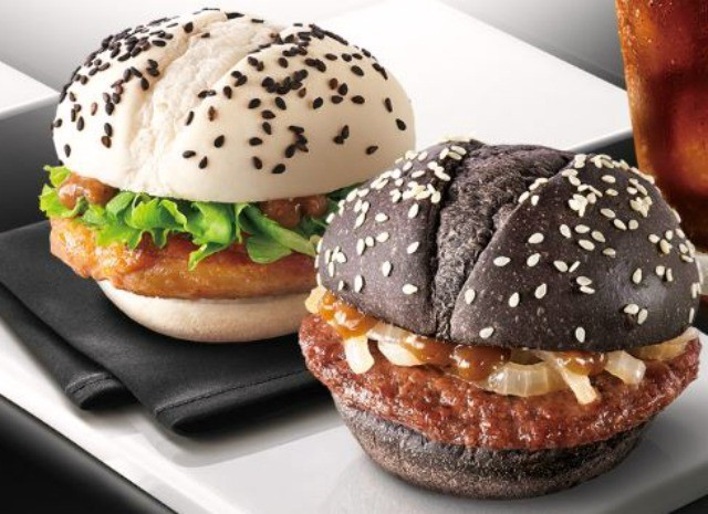 Black And White Burger | The Most Questionable McDonald's Burgers Out There | Brain Berries
