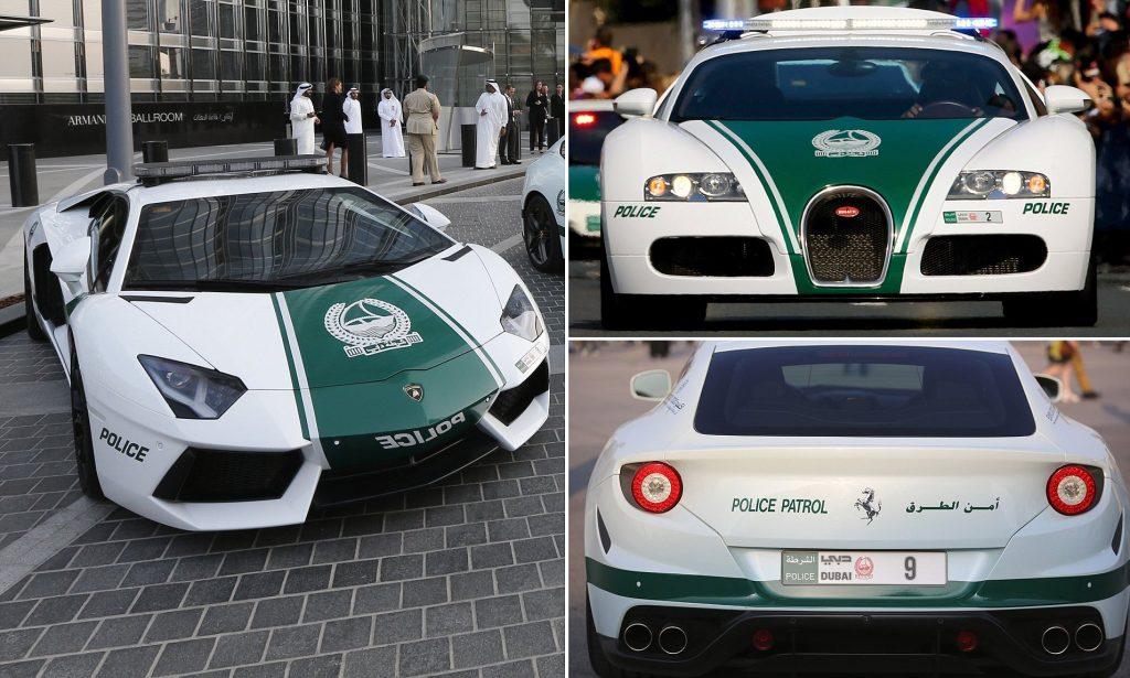 Bugatti Veyron | 7 World's Strangest Police Vehicles | Brain Berries