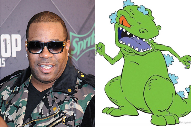 Busta Rhymes – Reptar in The Rugrats Movie   | 21 Celebrities Who Voiced Your Favorite Cartoon Characters | Brain Berries