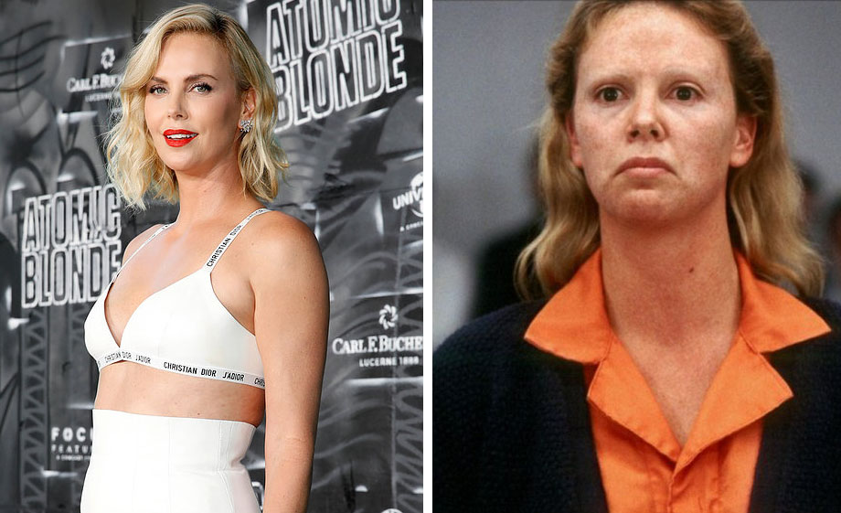 Charlize Theron – Aileen Wuornos | 10 'Ugly' Movie Characters Who Look Stunning in Real Life | ZestRadar