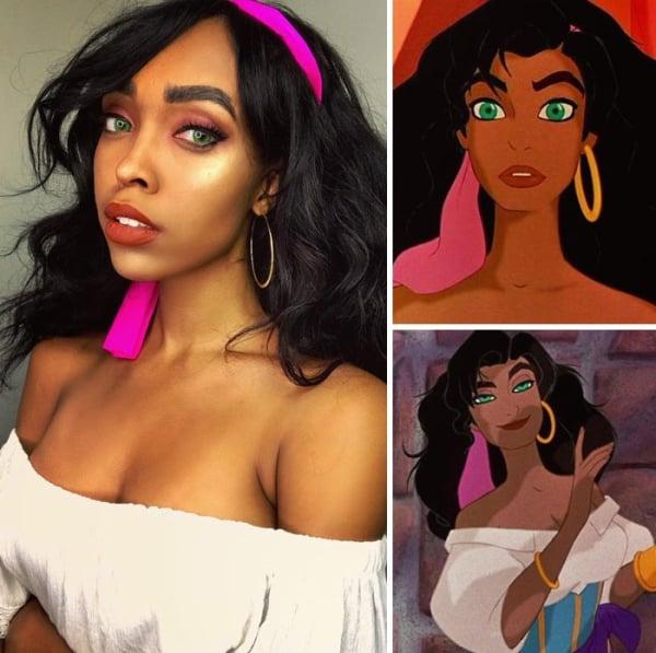 Esmeralda from Hunchback of Notre Damme | 15 Astounding Cosplay Transformations of CutiePieSensei | Brain Berries