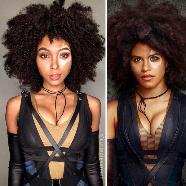 Domino | 15 Astounding Cosplay Transformations of CutiePieSensei | Brain Berries