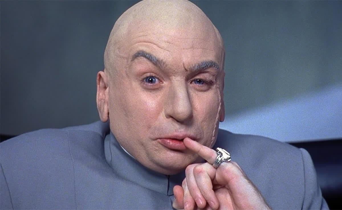 Dr. Evil – Austin Powers | 10 Most Hilarious Movie Villains | Brain Berries