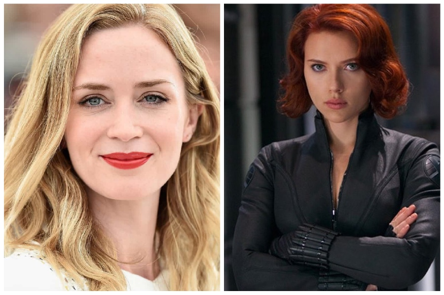 Emily Blunt (Black Widow & Peggy Carter)  | 14 Actors Who Refused to Play Superheroes | ZestRadar