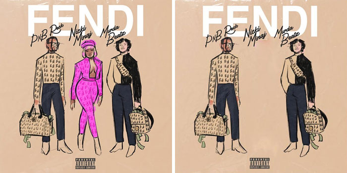 Pnb Rock, Nicki Minaj, Murda Beatz – Fendi | A Streaming Service in Iran is Removing Pictures of Female From Digital Covers | Brain Berries