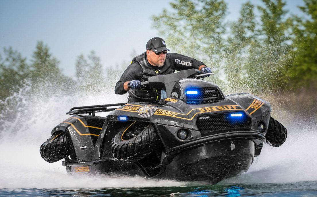 Gibbs QuadSki | 7 World's Strangest Police Vehicles | Brain Berries