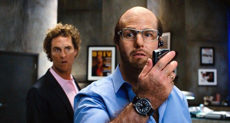 Les Grossman (Tropic Thunder) | 8 Most Memorable Tom Cruise Characters | Brain Berries