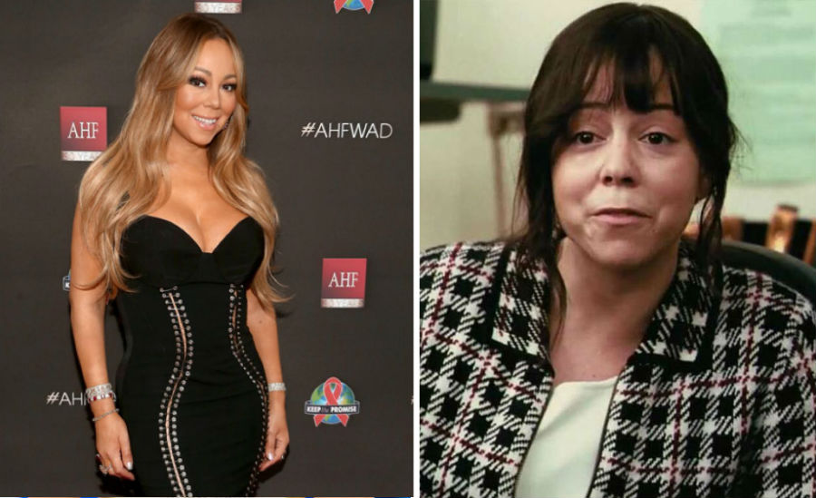 Mariah Carey – Ms. Weiss | 10 'Ugly' Movie Characters Who Look Stunning in Real Life | ZestRadar