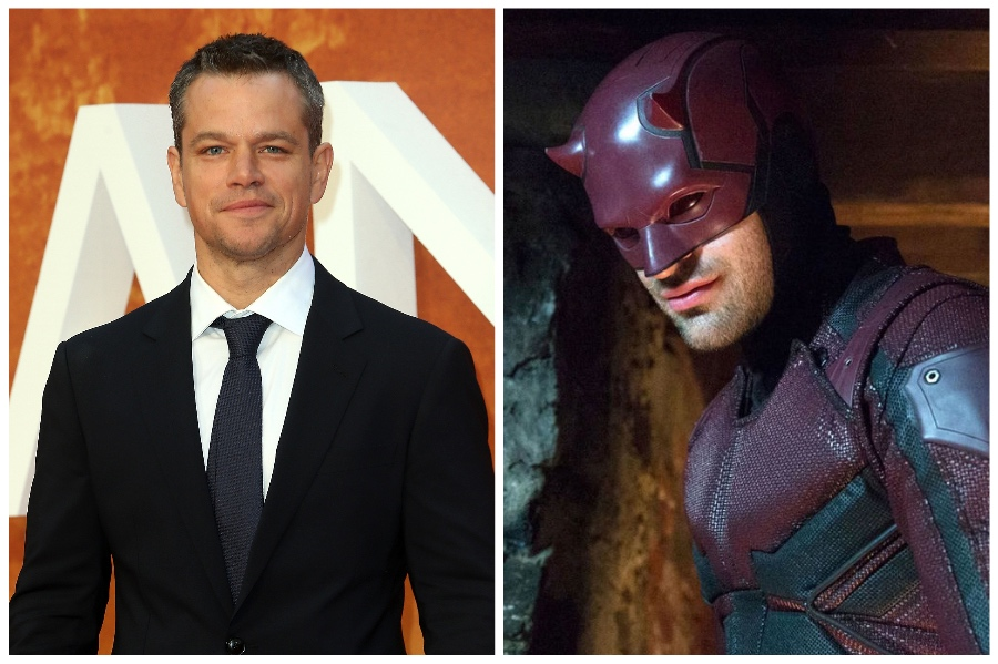 Matt Damon (Daredevil)  | 14 Actors Who Refused to Play Superheroes | ZestRadar