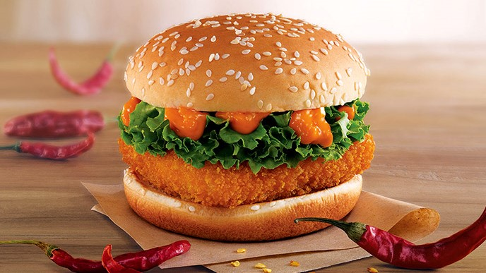 McSpicy Paneer Burger | The Most Questionable McDonald's Burgers Out There | Brain Berries