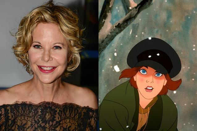 Meg Ryan – Anastasia  | 21 Celebrities Who Voiced Your Favorite Cartoon Characters | Brain Berries