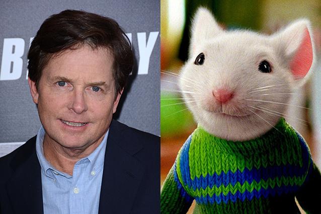Michael J. Fox – Stuart Little  | 21 Celebrities Who Voiced Your Favorite Cartoon Characters | Brain Berries