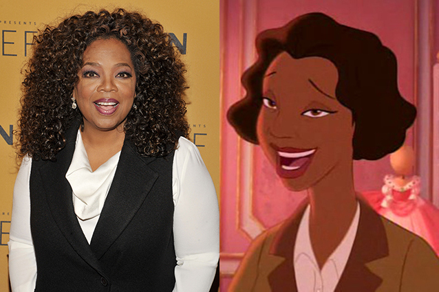 Oprah Winfrey – Eudora in The Princess and the Frog  | 21 Celebrities Who Voiced Your Favorite Cartoon Characters | Brain Berries