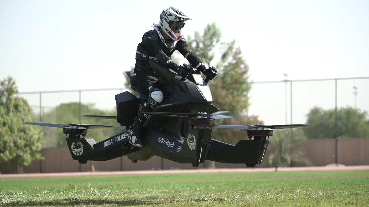 Hoverbike | 7 World's Strangest Police Vehicles | Brain Berries