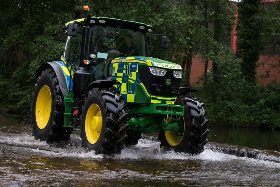 Police Tractor | 7 World's Strangest Police Vehicles | Brain Berries