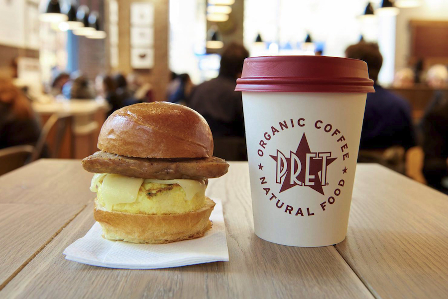 Pret a Manger  | 10 Best Fast Food Breakfasts | ZestRadar
