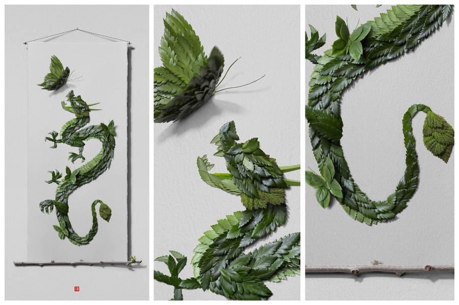 Artist Creates Images out of Flower Petals #8 | ZestRadar