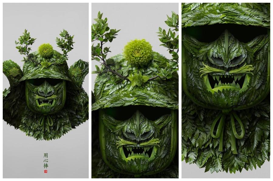 Artist Creates Images out of Flower Petals #9 | ZestRadar