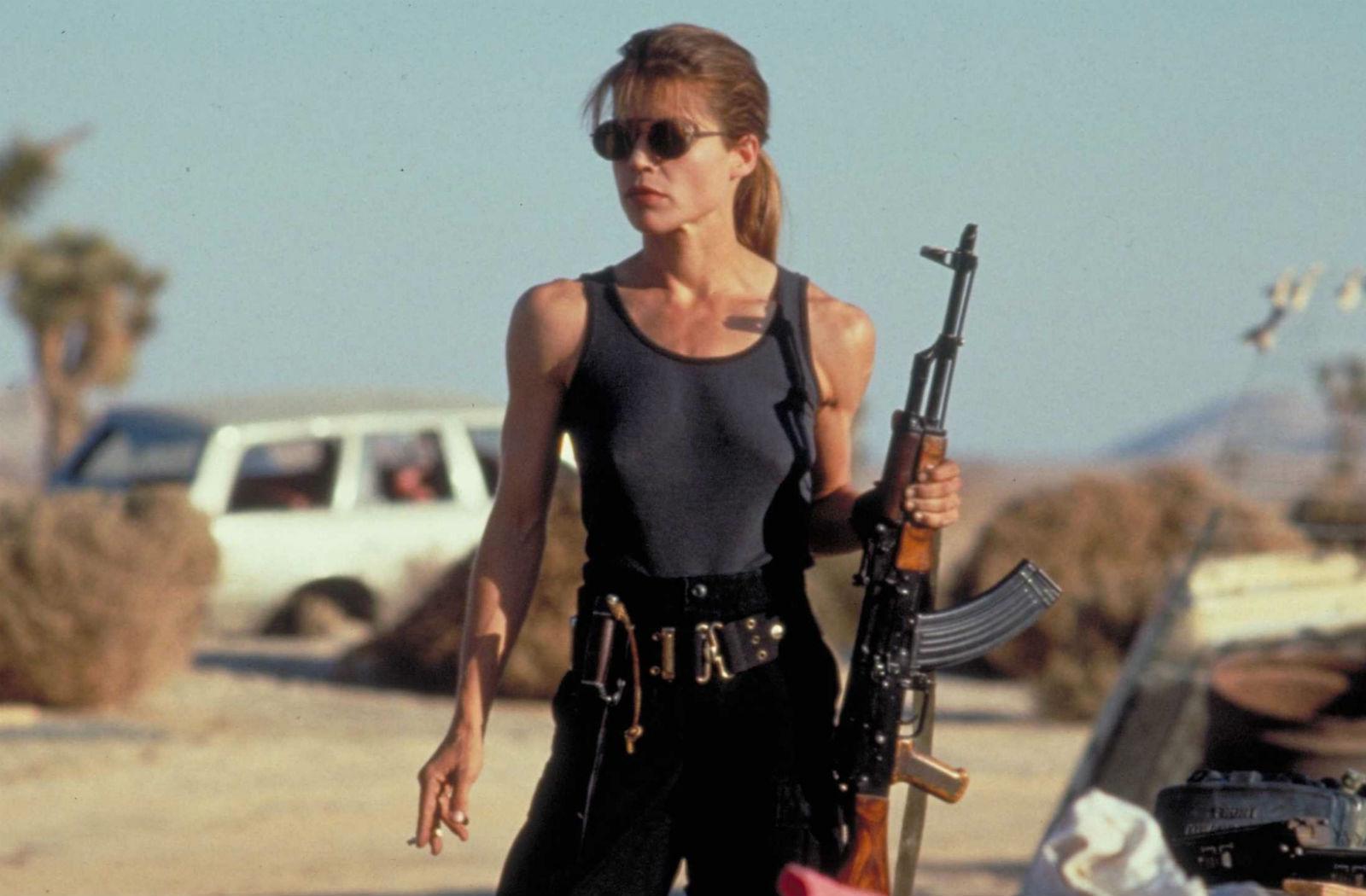 Sarah Connor |  De armas tomar: los 7 mejores personajes femeninos de acción | BrainBerries