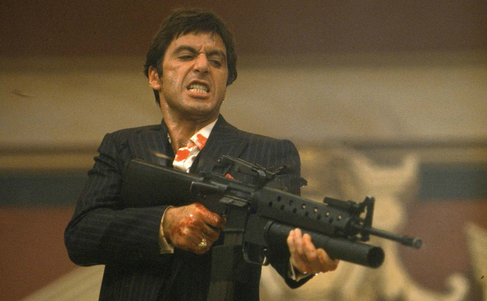 Scarface (1983) | 7 Movie Remakes That Don't Suck | Brain Berries