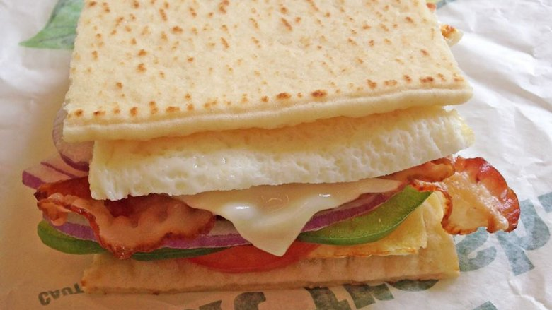 Subway | 10 Best Fast Food Breakfasts | ZestRadar