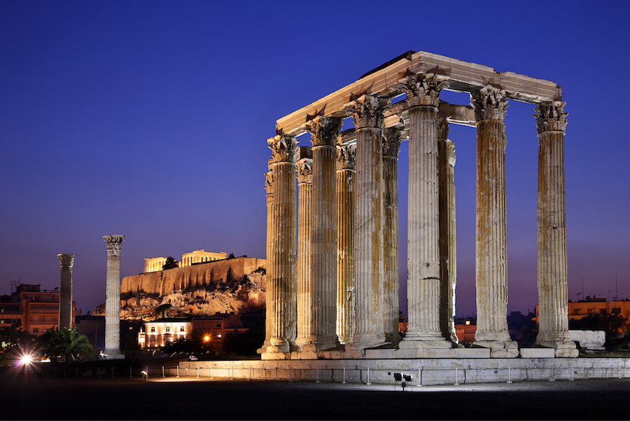 Temple of Olympian Zeus |  Top 10 Ancient Greek Masterpieces | ZestRadar