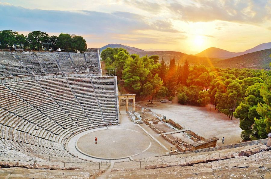 The Great Theater of Epidaurus |  Top 10 Ancient Greek Masterpieces | ZestRadar