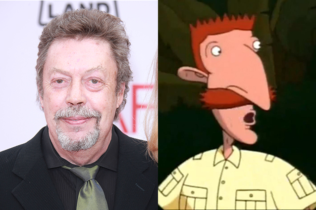 Tim Curry – Nigel Thornberry in The Wild Thornberrys  | 21 Celebrities Who Voiced Your Favorite Cartoon Characters | Brain Berries