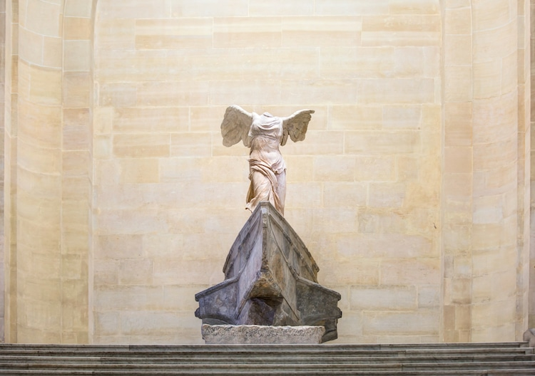 Winged Victory of Samothrace |  Top 10 Ancient Greek Masterpieces | ZestRadar