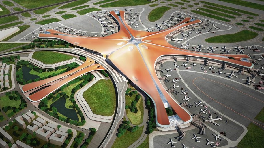 Beijing Just Opened The World's Largest Airport Shaped Like a Star! #1 | Brain Berries
