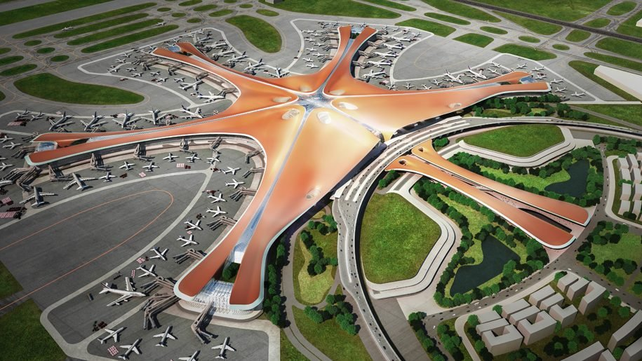 Beijing Just Opened The World's Largest Airport Shaped Like a Star! | Brain Berries