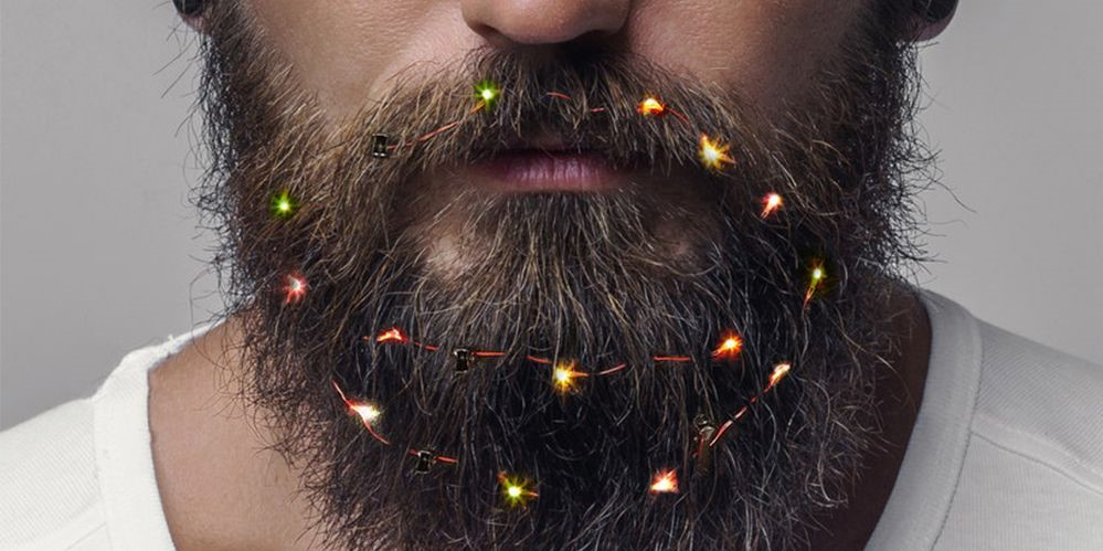 Deck Your Beard With Tiny Christmas Lights! #4 | BrainBerries