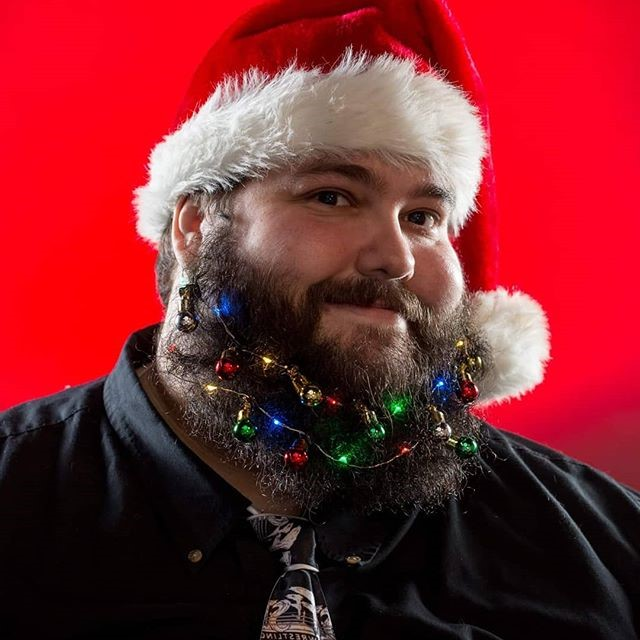 Deck Your Beard With Tiny Christmas Lights! #6 | BrainBerries