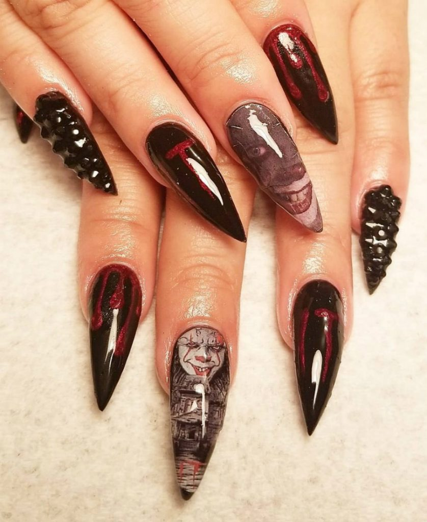 """""""Nail"""" The Halloween Party With These Devilish And Spooky Nail Art Designs #1 