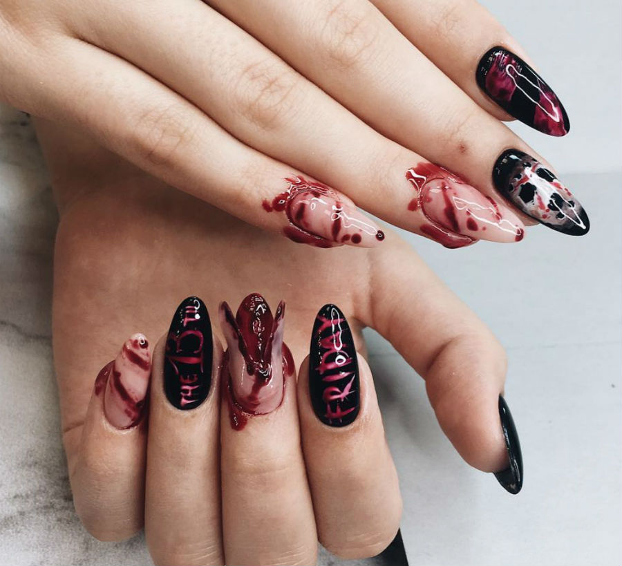 """""""Nail"""" The Halloween Party With These Devilish And Spooky Nail Art Designs #10 