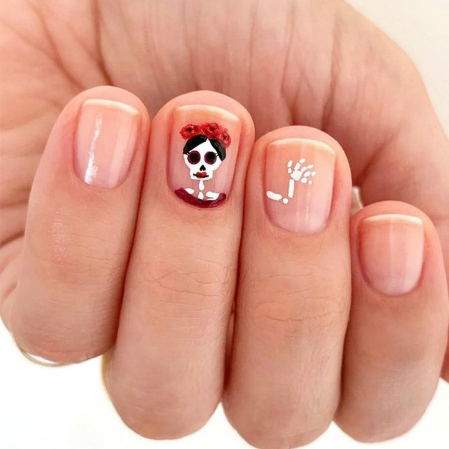 """""""Nail"""" The Halloween Party With These Devilish And Spooky Nail Art Designs #12 