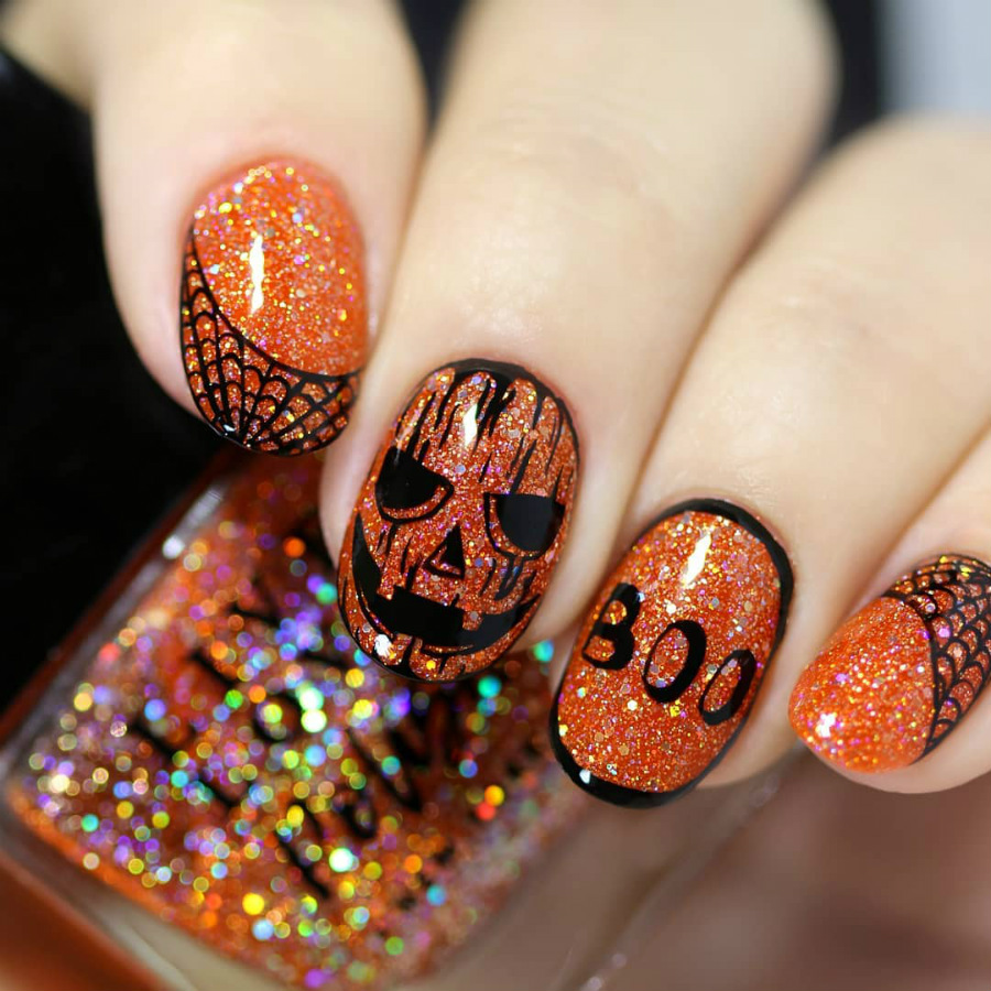 """""""Nail"""" The Halloween Party With These Devilish And Spooky Nail Art Designs #13 
