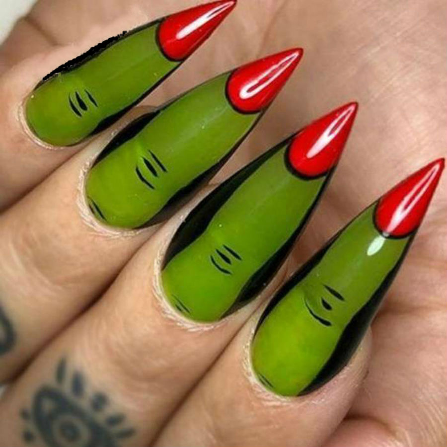 """""""Nail"""" The Halloween Party With These Devilish And Spooky Nail Art Designs #2 