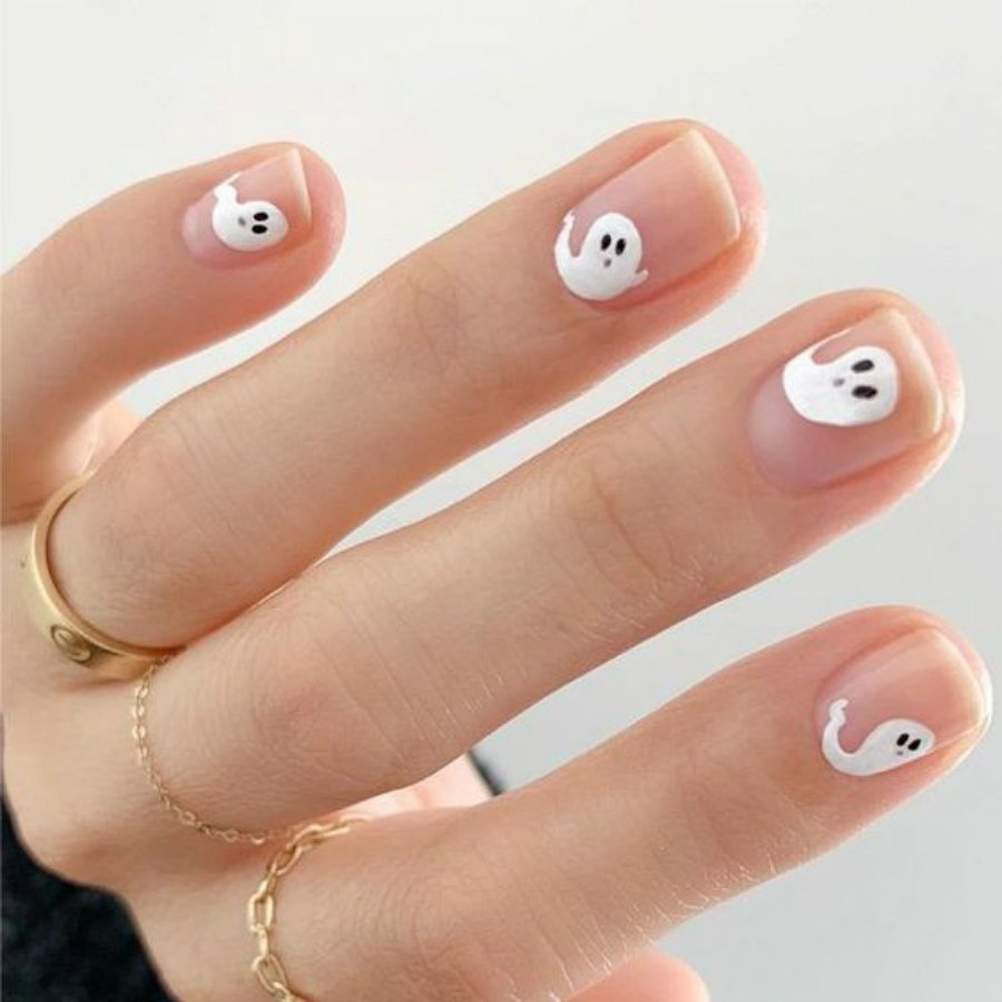 """""""Nail"""" The Halloween Party With These Devilish And Spooky Nail Art Designs #4 