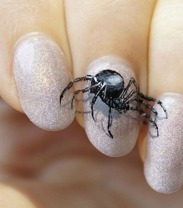 """""""Nail"""" The Halloween Party With These Devilish And Spooky Nail Art Designs #5 