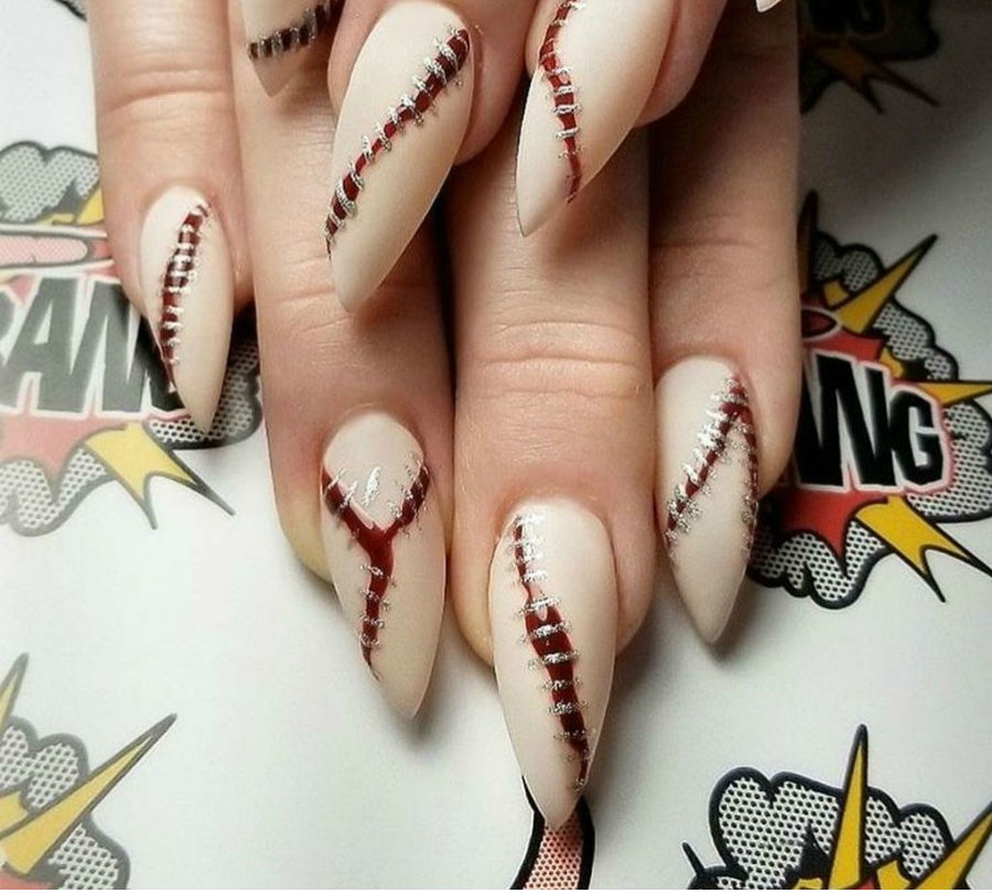 """""""Nail"""" The Halloween Party With These Devilish And Spooky Nail Art Designs #8 