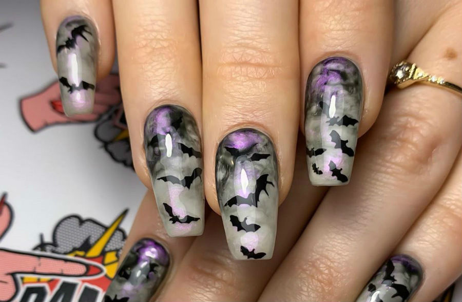 """""""Nail"""" The Halloween Party With These Devilish And Spooky Nail Art Designs #9 