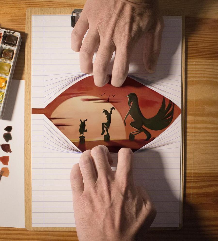 Реалистичные иллюстрации героев Диснея, которые оживают на бумаге #10 | ZestRadar
