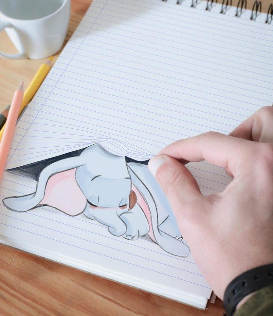 Реалистичные иллюстрации героев Диснея, которые оживают на бумаге #15 | ZestRadar
