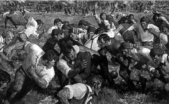 The First Thanksgiving Football Game | 10 Thanksgiving Facts That You Will Gobble Up | Brain Berries